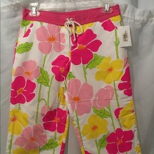 Lilly Pulitzer Girls Floral Capris